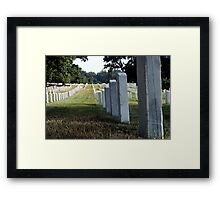 Eternal March Framed Print