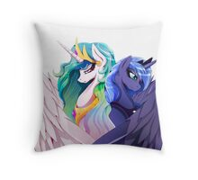 Sisters of Canterlot Throw Pillow