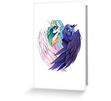 Sisters of Canterlot Greeting Card