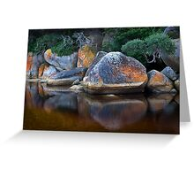 Painted Boulders Greeting Card