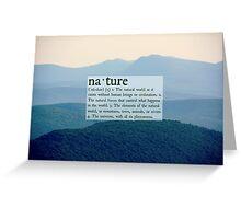 Nature Greeting Card