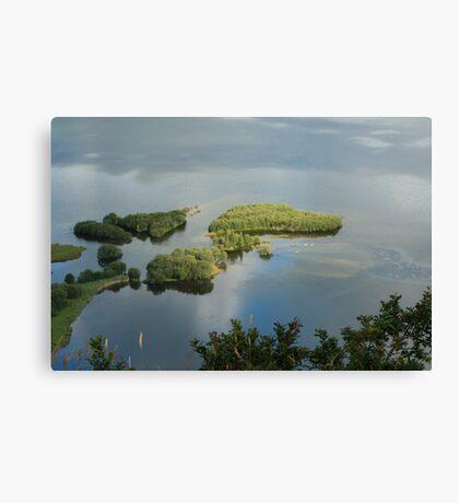 derwent water from suprise view Canvas Print