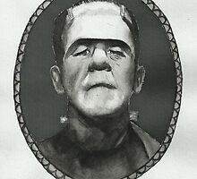 Boris Karloff as Frankenstein's Monster by laurenaliice