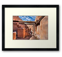 Grainery - At the Tumacacori Mission  Framed Print