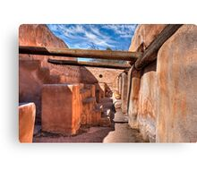Grainery - At the Tumacacori Mission  Canvas Print