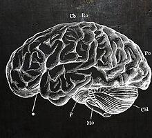 Brain Engraving by jackshoegazer