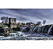 The Falls Of The Great Sioux River Photographic Print