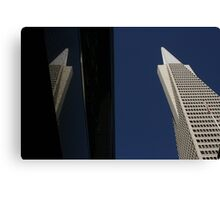 Transamerica Building Canvas Print