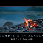 Camfire in Alaska, ©2010 Roland Taylor by Roland Taylor