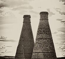 Updraught Bottle Kilns by David J Knight