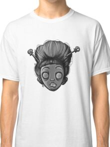 Geisha Girl (Black&White) Classic T-Shirt