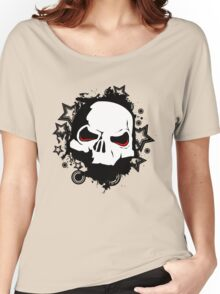 Evil Skull Women's Relaxed Fit T-Shirt