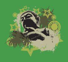 Urban Buddha by FredzArt