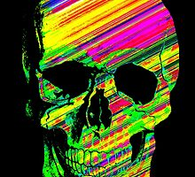 Glam Rock Scull by scardesign11