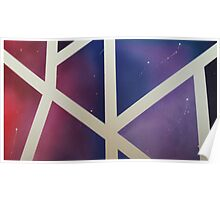 Airbrush space Poster