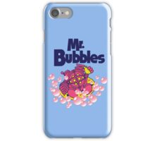 Mr. Bubbles iPhone Case/Skin