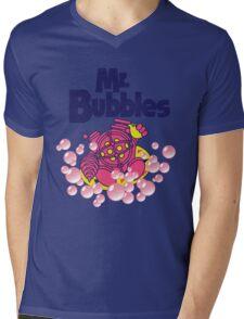 Mr. Bubbles Mens V-Neck T-Shirt