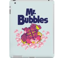 Mr. Bubbles iPad Case/Skin