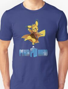 10th Doctor Pika Who? T-Shirt