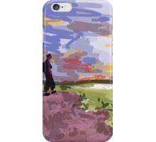 Impression Landscape iPhone Case/Skin