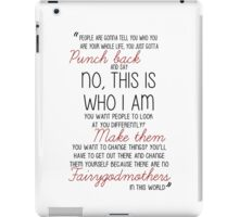 Once Upon a Time - Emma Swan Quote Red iPad Case/Skin