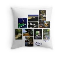 Canal du Midi Calendar 2010-2011 Throw Pillow