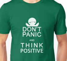 Marvin the Paranoid Android - Don't panic and think positive. Unisex T-Shirt