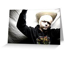 Studio Portraits - Self Lighting Greeting Card