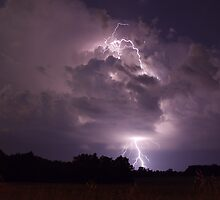 Lightning strike by Gregg Williams