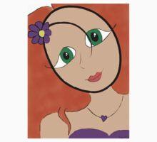 Purple girl 2/2 Baby Tee