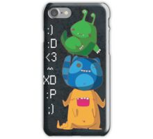 Cute Monsters iPhone Case/Skin