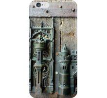 Town gate lock iPhone Case/Skin