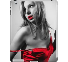 Lady in Red by Philip Gardiner iPad Case/Skin