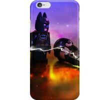 Batman Defeats Penguin iPhone Case/Skin
