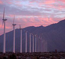 Malibu windfarm by McVirn Etienne