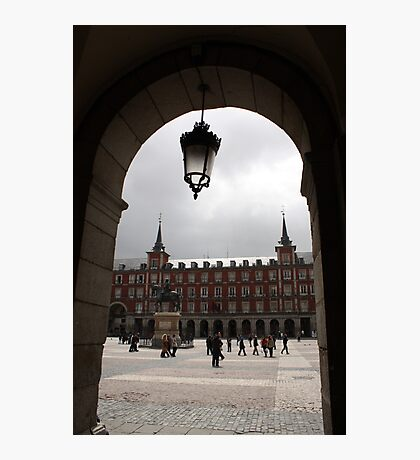 Madrid through the arch Photographic Print