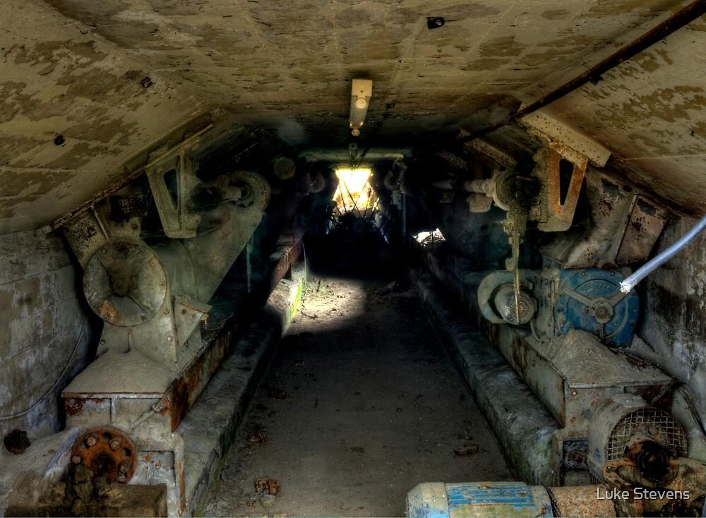 Cement Tunnel by Luke Stevens