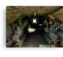 Cement Tunnel Canvas Print
