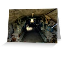 Cement Tunnel Greeting Card