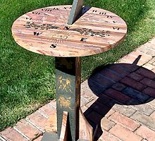 sun dial by arteology