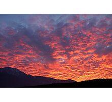 Californian sunset Photographic Print
