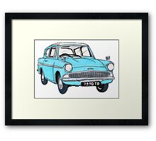 The Weasley Mobile. Framed Print