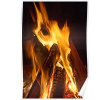 Campfire Dance Poster