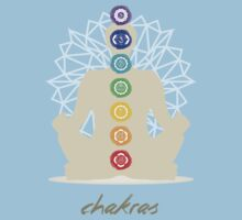 Chakras body One Piece - Short Sleeve