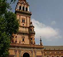tower of the plaza de España ~ Sevilla, Spain by fototaker