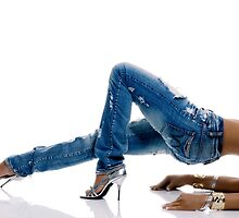 Stretch jeans by McVirn Etienne