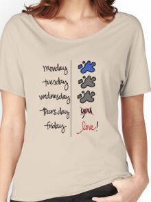 FRIDAY I'm in love! Women's Relaxed Fit T-Shirt