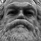 Karl Marx memorial by liverecs