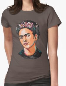Frida Kahlo Womens Fitted T-Shirt