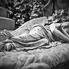 The Sleeping Angel of Highgate by liverecs